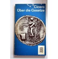 CICERO UBER DIE GESETZE Rowohlt 1969 tedesco TD09