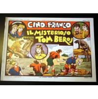 CINO E FRANCO IL MISTERIOSO TOM BEROS Anno 1 n.11 Nerbini 1974