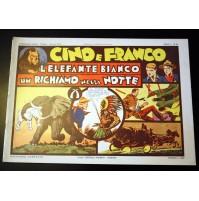 CINO E FRANCO L'ELEFANTE BIANCO UN RICHIAMO NELLA NOTTE Anno 1 n.10 Nerbini 1974