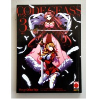 CODE GEASS OZ THE REFLECTION N. 3 PLANET MANGA Chika Tojo Marzo 2015