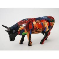 COW PARADE MEDIUM Terry BRADLEY THE DIVAS 2004 RARA SCULTURA RESINA RETIRED