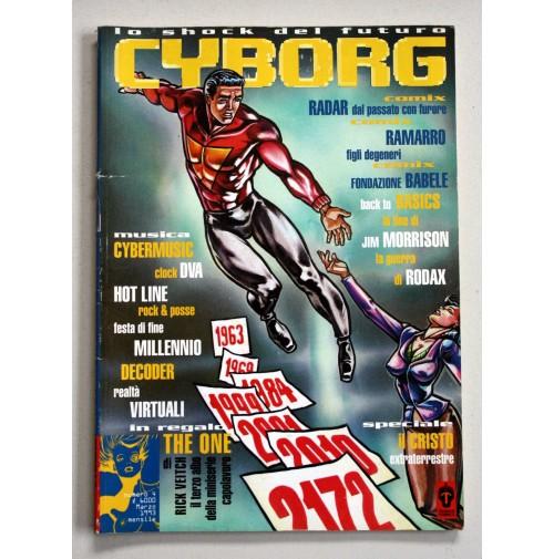 CYBORG Lo shock del Futuro n. 4 anno 1993 Telemaco Comics