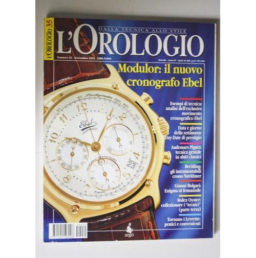 DALLA TECNICA ALLO STILE L'OROLOGIO Anno IV n. 35 Novembe 1995 M22