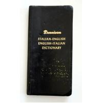 DENNISON VECCHIO DIZIONARIO TASCABILE ITALIANO INGLESE 1953 ENGLISH ITALIAN