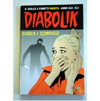 DIABOLIK Il Giallo a Fumetti ANNO XLII N.2 DIABOLIK è SCOMPARSO 2003