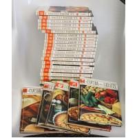 ENCICLOPEDIA LA BUONA CUCINA Selemark Mondadori anni 80 27 Volumi Completa