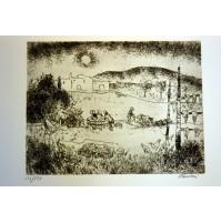 ENRICO PAULUCCI - IN CAMPAGNA - ACQUAFORTE 1982 138/150