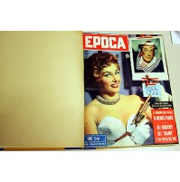 EPOCA RIVISTA SETTIMANALE ANNO 1955 ANNATA RILEGATI 12 NUMERI mondadori