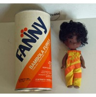 FANNY BAMBOLA FURGA VINTAGE SPACE AGE ANNI 70 POP ART FANTA mini DOLL