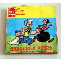GAFILM BRACCIO DI FERRO POPEYE CARTONE ANIMATO SUPER8 FILM