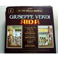GIUSEPPE VERDI GLI DEI DELLA MUSICA OPERA COMPLETA 35 LP 33 GIRI