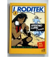 I RODITEK 3 Arsenio Lupin a fumetti Jess racconto d'amore Varia SEI 1989 F25