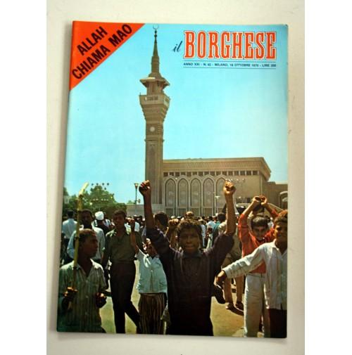 IL BORGHESE RIVISTA SETTIMANALE ANNO XXI N. 42 -18  OTTOBRE 1970