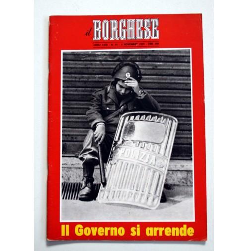 IL BORGHESE RIVISTA SETTIMANALE ANNO XXIII N. 45 - 5 NOVEMBRE 1972