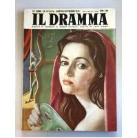 IL DRAMMA ANNO 35 N.275 276 AGOSTO SETT 1959 DOPPIO RIVISTA TEATRO QUINDICINALE