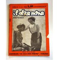 IL DRAMMA ANNO IX N.169 1 SETTEMBRE 1933 RIVISTA TEATRO QUINDICINALE