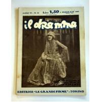 IL DRAMMA ANNO VI N.83 1 FEBBRAIO 1930 RIVISTA TEATRO QUINDICINALE