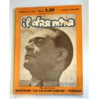 IL DRAMMA ANNO XI N.219 1 OTTOBRE 1935 RIVISTA TEATRO QUINDICINALE