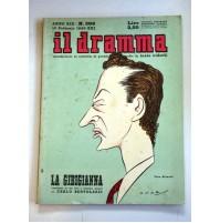 IL DRAMMA ANNO XIX N.396 15 FEBBRAIO 1943  RIVISTA TEATRO QUINDICINALE
