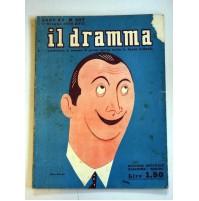 IL DRAMMA ANNO XV N.307 1 GIUGNO 1939 RIVISTA TEATRO QUINDICINALE POMPEI