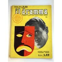 IL DRAMMA ANNO XVI N.323 1 FEBBRAIO 1940 RIVISTA TEATRO QUINDICINALE
