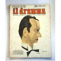 IL DRAMMA ANNO XVIII N.378 15 MAGGIO 1942  RIVISTA TEATRO QUINDICINALE