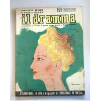 IL DRAMMA ANNO XVIII N.388 15 OTTOBRE 1942  RIVISTA TEATRO QUINDICINALE