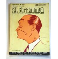 IL DRAMMA ANNO XVIII N.389 1 NOVEMBRE 1942 RIVISTA TEATRO QUINDICINALE