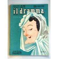 IL DRAMMA ANNO XVIIi N.385 1 SETTEMBRE 1942 RIVISTA TEATRO QUINDICINALE