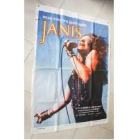 JANIS MOVIE POSTER ORIGINAL 1974 Joplin 100x140 cm film H. Alk CINEMA MANIFESTO