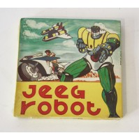JEEG ROBOT SANGUE BLU SONORO COLORE FILM SUPER 8 SUPER8 MM