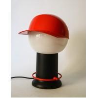 LAMPADA DA TAVOLO CAP BILUMEN VINTAGE DESIGN GIUGIARO CAPPELLINO