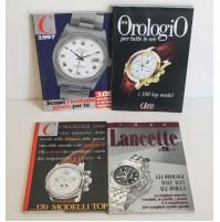 LOTTO 4 RIVISTE CLASS OROLOGI 1994 1998 LANCETTE COLLEZIONE TOP MODEL Q01