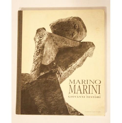 MARINO MARINI visto da Giovanni Testori Fabbri Editori 1991 libro