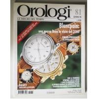 OROLOGI LE MISURE DEL TEMPO N° 81 Gennaio 1995 Technimedia B57 girard-perregaux