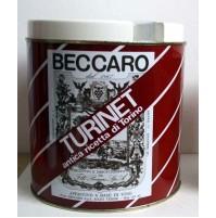 PORTAGHIACCIO TURINET BECCARO SCATOLA LATTA VINTAGE ANNI 70 ice bucket