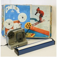 PROIETTORE CINEBRAL CON SPECIAL BIPASSO SUPER 8 8MM FILM BRAL VINTAGE GIOCATTOLO