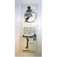 PUBBLICITA' 1958 TONERGIL RICOSTITUENTE CARLO ERBA  RITAGLIO GIORNALE