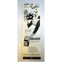 PUBBLICITA' 1958 VIEW-MASTER ERCA MILANO 11,5X35 CM ritaglio giornale