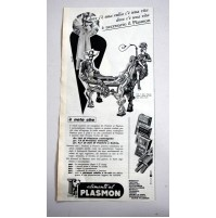 PUBBLICITA' 1961 ALIMENTI AL PLASMON vintage RITAGLIO GIORNALE