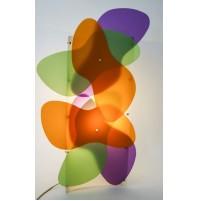 RARA LAMPADA DA TAVOLO SLAMP BUTTERFLIES DESIGN NAGHI HABIB M-TUBE PARKER 2002