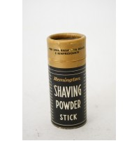 REMINGTON SHAVING POWDER STICK VINTAGE COLLECTIBLE DA TOILETTE UOMO BARBA