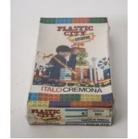 SCATOLA COSTRUZIONI PLASTIC CITY 2001 ITALOCREMONA 0501 RUOTE vintage lego