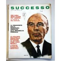 SUCCESSO RIVISTA MENSILE ANNO XII N. 7 LUGLIO 1970 GUIDO CARLI