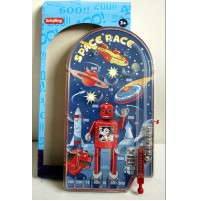 Schylling PINBALL GAME SPACE RACE ROBOT FLIPPER PORTATILE