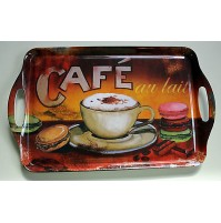 VASSOIO ORVAL CREATIONS CAFE' BREAKFAST VINTAGE DESIGN FRANCE