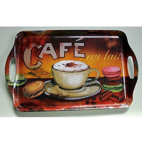 VASSOIO ORVAL CREATIONS CAFE' BREAKFAST VINTAGE DESIGN FRANCE