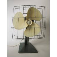VENTILATORE IN METALLO CALOR VINTAGE ANNI 70 DESIGN marelli SPACE AGE