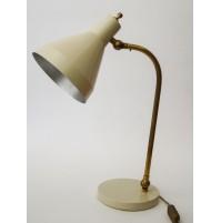 LAMPADA ANNI 50 DELL KAISER ORIGINAL LAMP VINTAGE ART DECO BAUHAUS RESTORED