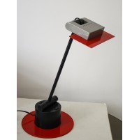 ETTORE SOTTSASS AERO TABLE LAMP BIEFFEPLAST 1983 VERY RARE LAMPADA DESK DESIGN